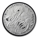2021 Tokelau 1 oz Silver The Great Old One: Cthulhu 2021 BU
