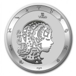 2021 Tokelau 1 oz Silver $5 Zodiac Series (Virgo) BU