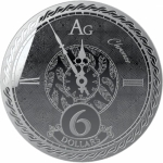 2020 Tokelau 1 oz Silver $5 Chronos Prooflike