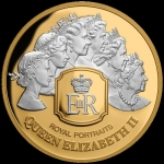 2020 Tokelau 1 oz Silver Royal Portraits 2020 Proof
