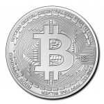 2020 Republic of Chad 1 oz Silver Crypto Series - Bitcoin...