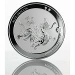 2018 Republic of Chad 1 oz Silver Four Guardians - Blue...