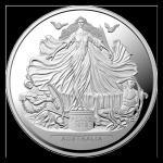 2019 $5 Treaty of Versailles 1oz  Silver Proof