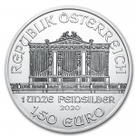 1 oz Silver Austrian Philharmonic 2020 In House...