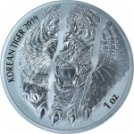 1 oz Silver South Korea Korean Tiger 2019