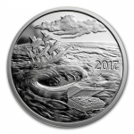 1 oz Silver Round - 2017 Silverbug Island Whirlpool (Prooflike)