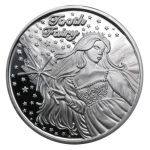 1 oz Silver Round - Tooth Fairy Zahnfee