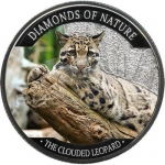 10 $ Dollar Nebelparder Clouded Leopard Diamonds of...