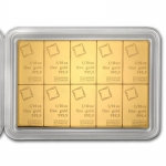 10x 1/10 Oz Gold CombiBar? (In Assay) .9999 Fine