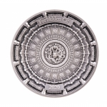 2020 FORBIDDEN CITY 4 Layer 100 g Silver Coin 10$ Solomon...