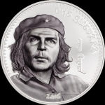 1000 Togrog  Che Guevara 2018 Mongolei  1 Oz Silber Proof