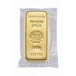1,000 gram Heraeus Gold Bar (cast) .9999 Fine (In Assay)