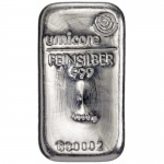 1,000 gram Silver Bar LBMA (cast) .9999 Fine (In Assay)