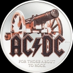 2 $ 2019 Cook Islands - 1/2 Oz Silber AC/DC - For Those...