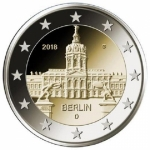 2 Euro Germany 2018 Berlin, Charlottenburg Palace,...