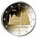 2 Euro Germany Lower Saxony, St. Michael\'s Church...