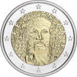 2 Euro Finland 2013 125. Anniversary of Borth of  Frans...