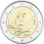 2 Euro Finland 2014 100. Anniversary of Birth of Tove Jansson