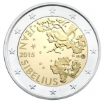 2 Euro Finland 2015 150. Anniversary of Birth of Jean...