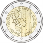 2 Euro Finland 2016  100 Annivasary of Birth of Georg...