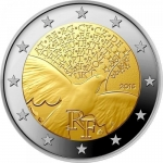 2 Euro Frankreich 2015 70 Years Freedom in Europe unc.