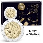 2 Euro France 2019 60 Years Asterix - in Coincard Obelix...
