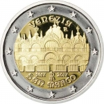 2 Euro Italy 2017  St Mark\'s Basilica  Proof