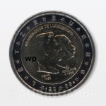 2 Euro Luxemburg 2005 100 Anniversary of Death of Grand...