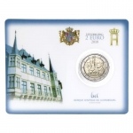 2 Euro Luxemburg 2018  Grand Duke Guillaume I-175th...