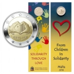 2 Euro Malta 2016 Love in Coincard
