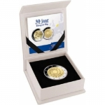 2 Euro Netherland 2015 30 Years European Flag Proof in Box