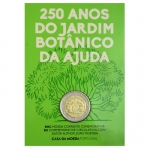 2 Euro Portugal 2018 250TH of Botanical Garden Ajuda...