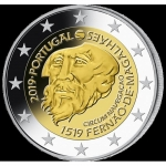 2 Euro Portugal 2019 500th Anniversary of Magellan circumnavigation of the Earth  bfr