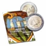 2 Euro San Marino 2009 European Year of Creativity and...