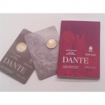 2 Euro San Marino 2015 750. Birthday of Dante in Coincard