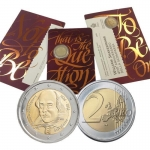 2 Euro San Marino 2016 William Shakespeare in Coincard