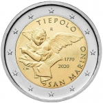 2 Euro San Marino 2020 250th Anniversary of Death of...