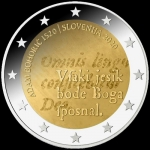 2 Euro Slovenian 2020 500th Anniversary of Adam Bohoric...