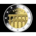 2 Euro Spain 2016 Aqueduct of Segovia
