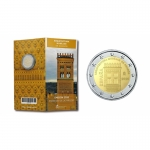 2 Euro Spain  2020  Mudejar - Architecture in Aragon Proof