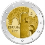 2 Euro Spain  2021  Old Town of Toledo