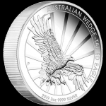 2019 $2 Wedge-Tailed Eagle High Relief 2oz Silver Piedfort