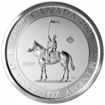 2020 Canada 2 oz Silver 100 Years Mounty / Mounted Police...