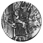 Tuvalu 2014 $2 Gods Of Olympus? Hades 2oz Silver Antique