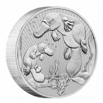 2021 Australia 2 oz Silver Piedfort  Platypus Mother and...