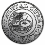 2 oz Silver Round - Colonial Tribute Series: Continental...