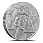 2 Oz Silver Ultra High Relief Khnum Silver 999,99 Heidi...