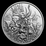 2 oz UHR ULtra High Relief Silver Round - Molon Labe...