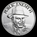 "2 oz UHR ULtra High Relief Silver Round - ""Public..."