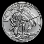 2 oz UHR ULtra High Relief Silver Round - Sons of...